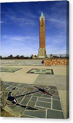 Jones Beach Tower And Anchor New York Canvas Print by Bob Savage