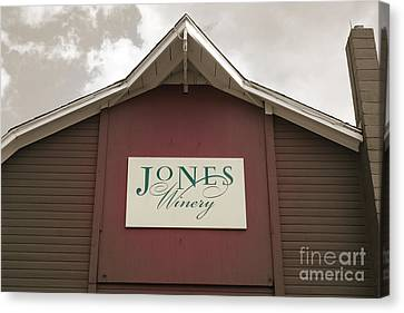 Jones Winery Barn Canvas Print
