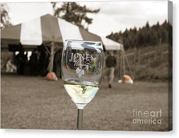Jones Winery Glass.02 Canvas Print