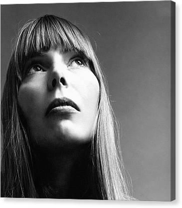 1969 Canvas Print - Joni Mitchell by Jack Robinson