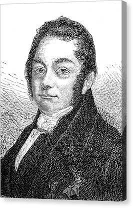 Jons Jacob Berzelius Canvas Print by Collection Abecasis