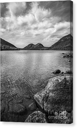 Jordan Canvas Print - Jordan Pond Acadia National Park Maine. by Diane Diederich