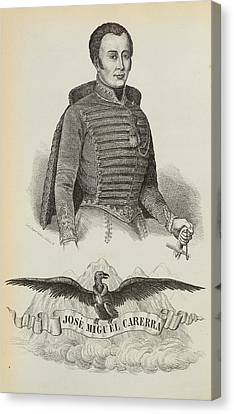 Independance Canvas Print - Jose Miguel Carrera by British Library