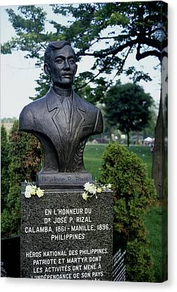 Independance Canvas Print - Jose Rizal by Pierre Roussel