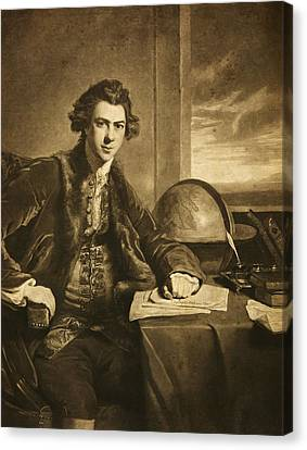 Joseph Banks, English Naturalist Canvas Print by Science Photo Library