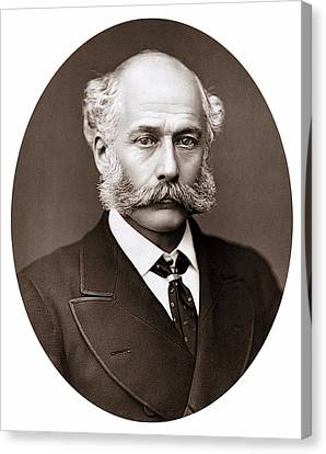 Joseph Bazalgette Canvas Print by Universal History Archive/uig