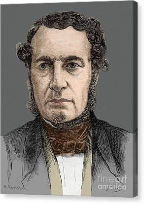 Joseph-francois Malgaigne Canvas Print
