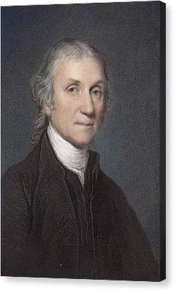 Joseph Priestley Canvas Print by Paul D Stewart