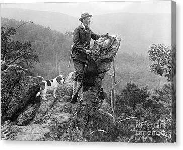 Ewing Canvas Print - Joseph Rothrock, Us Environmentalist by Library Of Congress