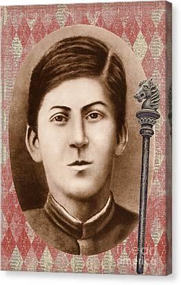 Joseph Stalin 14 Years Old Canvas Print