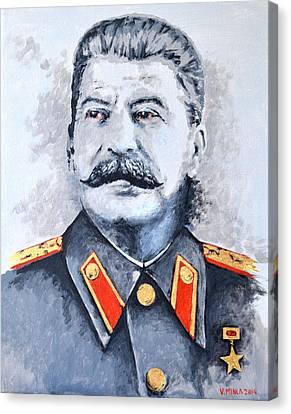 Joseph Stalin Canvas Print