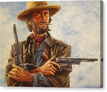 Josey Wales Canvas Print by Dan Nance