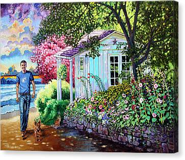 Josh In Heaven Canvas Print by John Lautermilch