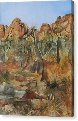 Canvas Print - Joshua Ghost Trees by Lynne Bolwell