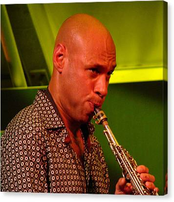 Joshua Redman 2 Canvas Print by Eva Kato