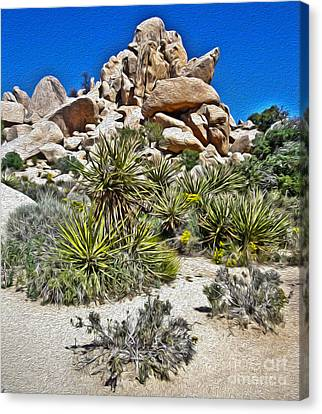 Joshua Tree - 12 Canvas Print by Gregory Dyer