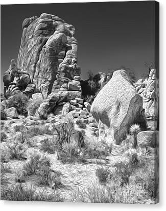 Joshua Tree - 14 Canvas Print by Gregory Dyer
