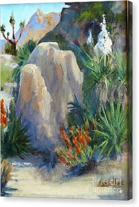 Joshua Tree National Monument Canvas Print by Maria Hunt