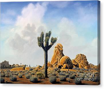 Canvas Print - Joshua Tree by Mark Junge