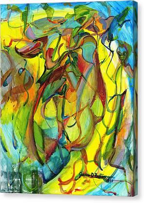 Josie's Pals Canvas Print