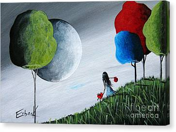 Journey Home By Shawna Erback Canvas Print by Shawna Erback