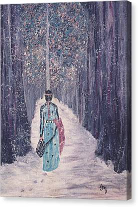Journey Canvas Print by Inge Lewis