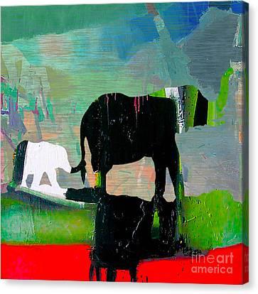 Journey Canvas Print by Marvin Blaine