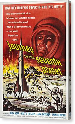 Journey To The Seventh Planet Canvas Print by MMG Archives
