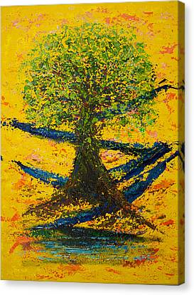Joy And Strength Canvas Print by William Killen