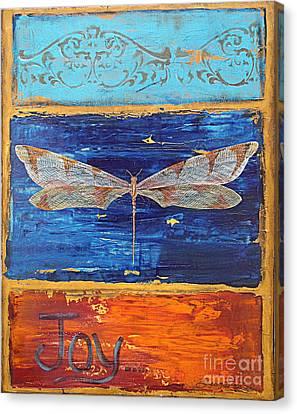 Joy Canvas Print by Jean Plout
