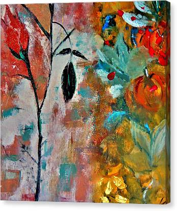 Canvas Print featuring the painting Joy by Lisa Kaiser