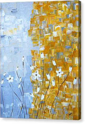 joy Canvas Print by Sonali Kukreja
