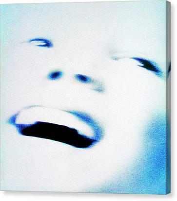 Joyful Face Canvas Print