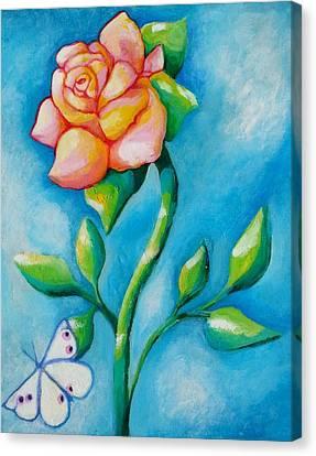 Joyful Garden #2 Top Panel Canvas Print