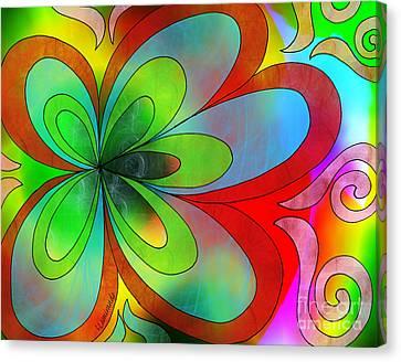 Joyful Peace - Paix Joyeuse Canvas Print by Louise Lamirande