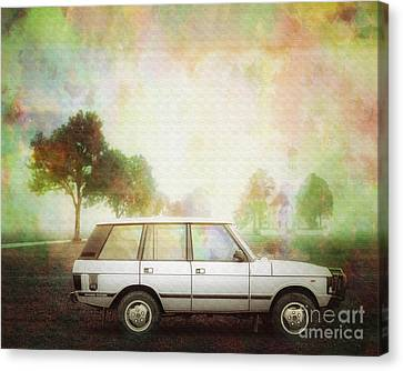Joys Of Refined Motoring  Canvas Print by Edmund Nagele