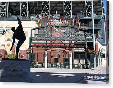 Juan Marichal At San Francisco Att Park . 7d7640 Canvas Print