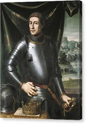 Juanes, Juan De 1523-1579. Alfonso V Canvas Print