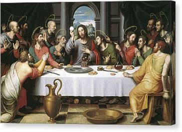Juanes, Juan De 1523-1579. The Last Canvas Print