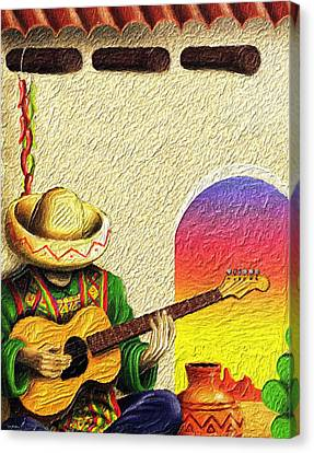 Juan's Song Canvas Print by Tyler Robbins