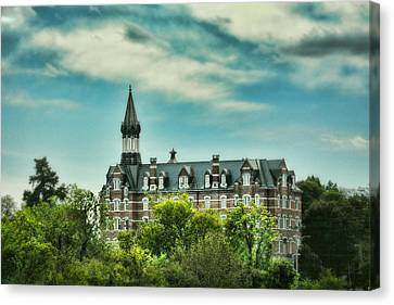 Downtown Nashville Canvas Print - Jubilee Hall At Fisk University - Nashville Tennessee by Jai Johnson