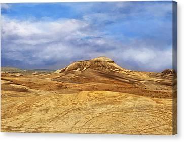 Judean Desert Canvas Print