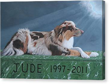 Jude's Farewell Canvas Print