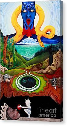 Judgement  Canvas Print by An-Magrith Erlandsen