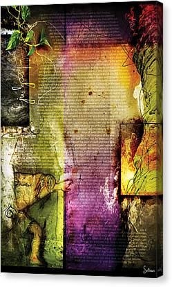 Judges 15 Canvas Print by Switchvues Design