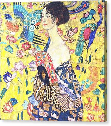 Judith 2 By Gustav Klimt Canvas Print by Pg Reproductions