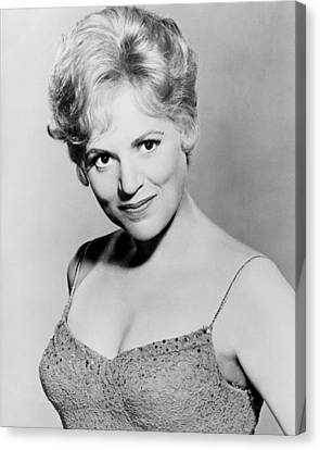 Judy Holliday Canvas Print by Silver Screen