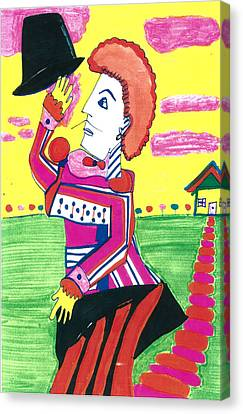 Juggler Canvas Print