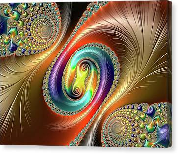 Julia-set Fractal Canvas Print