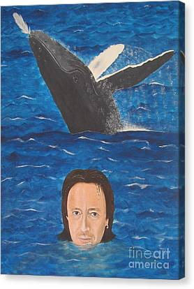 Julian Lennon Canvas Print